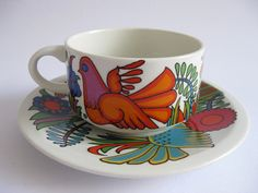 Villeroy & Boch Acapulco cup and saucer