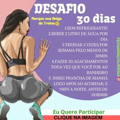 Fitness mulher Fitness Workout programs Fitness trainer Health fitness No e Fitness Workouts, Fitness Motivation, At Home Workouts, Health And Fitness Tips, No Equipment Workout, Workout Programs, Personal Trainer, How To Lose Weight Fast, Weight Loss
