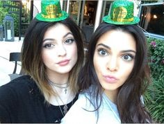 Kendall and Kylie Jenner makeup. Kardashians. Keeping up with the Kardashians
