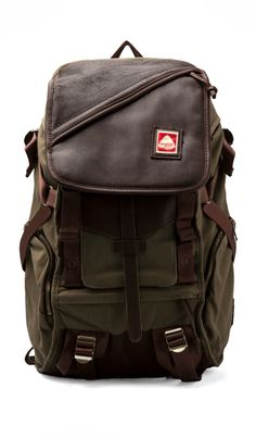 Jansport Skip Yowell Collection Pleasanton Backpack in Army Green | REVOLVE