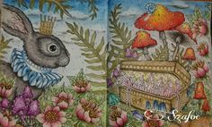 #hannakarlzon #magiskgryning #prismacolor #crelandopastel #softpastel #backgroundpastel #coloringbooks