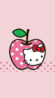 Hello Kitty Car, Melody Hello Kitty, Hello Kitty Birthday, Sanrio Hello Kitty, Hello Kitty Wallpaper Free, Hello Kitty Backgrounds, Bow Wallpaper, Apple Wallpaper Iphone, Wallpaper Stickers