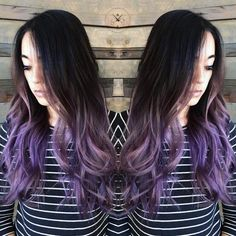 """Jeffrey Roberts calls this """"Metal plum"""" and we love it! #KenraColor #MetallicObsession"""
