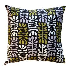 Spekboom Lime & Earth on Charcoal Scatter Cover Scatter Cushions, Throw Pillows, Cement, Charcoal, Lime, Earth, Cover, Toss Pillows, Limes
