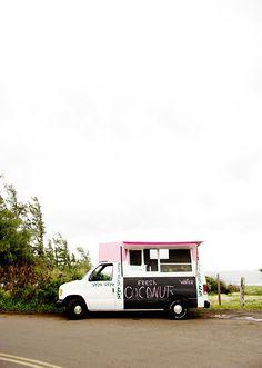 food truck - fresh coconuts