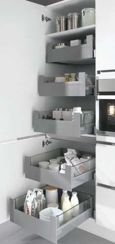 Example kitchen closet