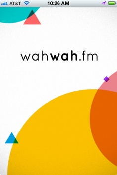 launch screen on wahwah.fm