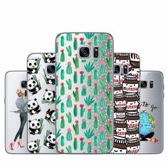 Young Fashion Soft TPU Cases For Samsung Galaxy S6 Edge G9250 Soft Silicone TPU Phone Case For Samsung S6 S 6 Edge Back Cover
