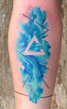 Tatoo Compass, Unalome Tattoo, Watercolor Tattoo, Tattoo Designs, Tatuajes Tattoos, Tattos, Ideas, 1, Water Colors