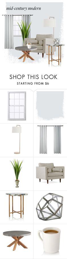 """gray"" by majastina2004 ❤ liked on Polyvore featuring interior, interiors, interior design, home, home decor, interior decorating, Arteriors, Improvements, Joybird and Kelly Behun Studio"