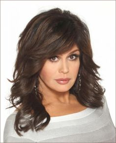 Chatter Busy: Is Marie Osmond Still Marie Osmond Hot, Top Hairstyles, Layered Haircuts, Cut And Color, Hair And Nails, Hair Makeup, Hair Cuts, Hair Color, Hair Beauty