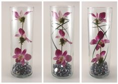 diy+centerpieces+for+wedding+tables   here is a beautiful centerpiece by my purple wedding that is simple to ...