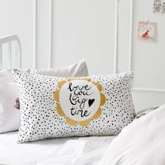 Adairs Kids Text Pillowcase, kids pillowcases, kids bedlinen