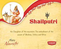 May this Navratri bring- Shanti, Shakti, Samppati, Swaroop, Saiyyam, Sadgi, Safalta, Samriddhi, Sanskaar, Swasathya, Sammaan, aur Sneh in your life.