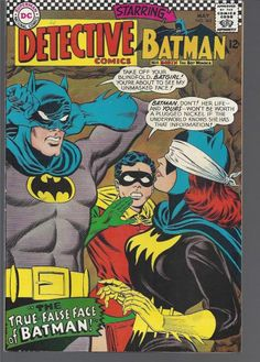 *** DETECTIVE Comics 363 VF   Batman Robin and BATGIRL ***