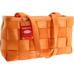 An Orange Seatbelt purse from Harveys, what more could a girl need?