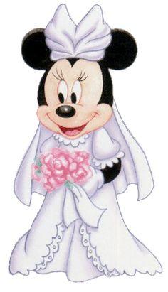 llist of bride duties for wedding   Description from Disney Wedding Clipart Bride Minnie Mouse Mickey ...
