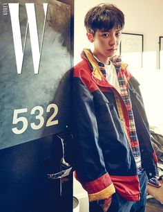 Exo : Chanyeol 찬열 : W Korea Magazine 2017 Park Chanyeol Exo, Exo K, Kyungsoo, K Pop, Kdrama, Rapper, Kim Minseok, Exo Members, Chanbaek