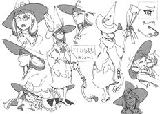 Re88, artbooksnat: Little Witch Academia (リトル ウィッチ...