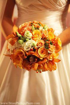 lush fall bouquet