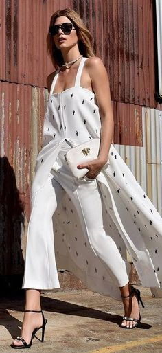 All White Chic                                                                             Source