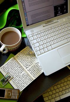 moleskine journaling via Flickr