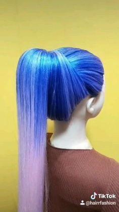 Ponytail Hairstyles Tutorial, Wedding Hairstyles Tutorial, Easy Hairstyles For Long Hair, Up Hairstyles, Braided Hairstyles, Hairdos, Hair Up Styles, Medium Hair Styles, Hair Medium