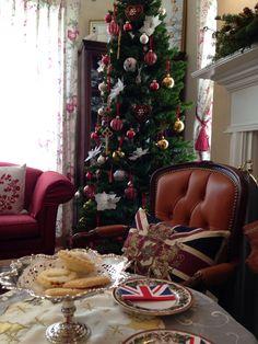 British christmas party
