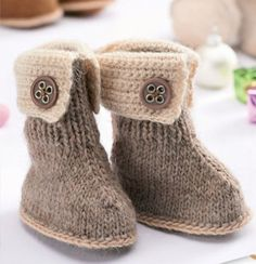Top 10 Free Patterns for Knitting and Crocheting Baby Booties - Top Inspired