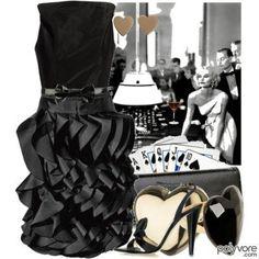 black dresses .