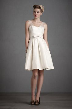Don't think I'll get my wedding dress from BHLDN, and I certainly won't have a reception dress (my wedding dress will just be too fabulous to take off!).  but this for the rehearsal dinner?  Yes please!