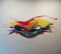 Laughing Eye Pat Lipsky Date: 1970 Style: Lyrical Abstraction Genre: abstract