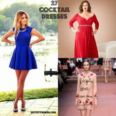 Cocktail Party Outfits- 27 Dresses to Wear at Cocktail Party - http://www.2016hairstyleideas.com/beauty/cocktail-party-outfits-27-dresses-to-wear-at-cocktail-party.html