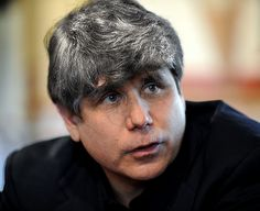A photoshopped image of what Blagojevich's hair will look like when he gets out of prison.