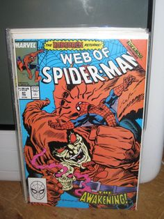 "WEB OF SPIDER-MAN #47 ""HOBGOBLIN RETURNS"" AMAZING SPIDER-MAN MARVEL COMICS"