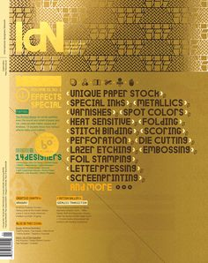 IdN v21n1: Printed Effects Special on Behance
