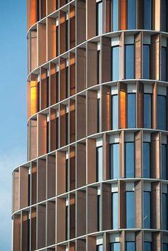 Mærsk Tårnet, udvidelse af Panum-komplekset. C.F. Møller. Photo: Julian Weyer