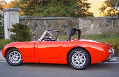 Austin Healy Sprite - this one looks like a baby Cobra! I prefer the classic look