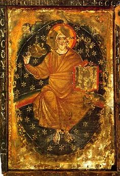 Christ as the Ancient of Days icon of St. Catherine monastery (Sinai).