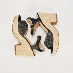 Ref: ZZBachata 06 - Negro Wedges, Shoes, Fashion, Shoes Sandals, Slippers, Latest Trends, Backpacks, Totes, Women