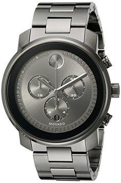 Movado Men's Black IP Steel Bracelet www.thesterlingsi...