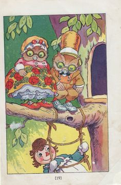 1930 vintage illustration by Johnny Gruelle5, via Etsy.
