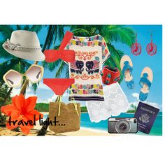 travel light..., created by hidden-fashionista.polyvore.com