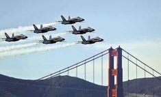 San Francisco's Fleet Week - Sacramento Magazine Blue Angels Practice, Fleet Week, Fall Vacations, San Francisco California, Family Travel, Family Trips, Best Cities, Military Aircraft, Sacramento