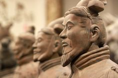 Terracotta Warriors in Xi'An (China). I'd love to see them! (http://www.thequirkytraveller.com/2012/02/get-off-chinas-beaten-track-this-winter/)