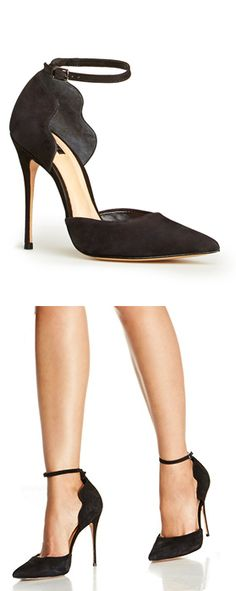 Scalloped pumps