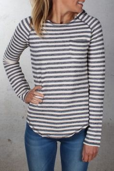Hurley - Paddle Hooded Long Sleeve Cream Stripe $59.99 Shop Via ll http://www.jeanjail.com.au/ladies/hurley-paddle-hooded-long-sleeve-cream-stripe-1.html