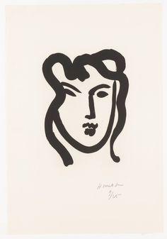 Henri Matisse - Portraits of Matisse's Students,1947-52. Aquatint on paper
