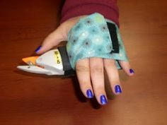Universal cuff for electric scissors