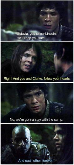 Everyone ships it || The 100 crack || Bellarke || Bellamy Blake, Clarke Griffin, Octavia Blake, Lincoln || Bob Morley, Marie Avgeropoulos and Ricky Whittle